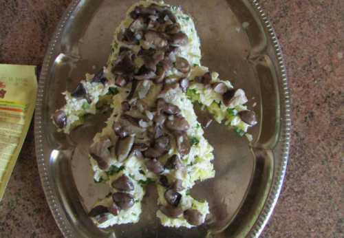 салат с курицей и ананасами: пошаговые рецепты слоями и так
