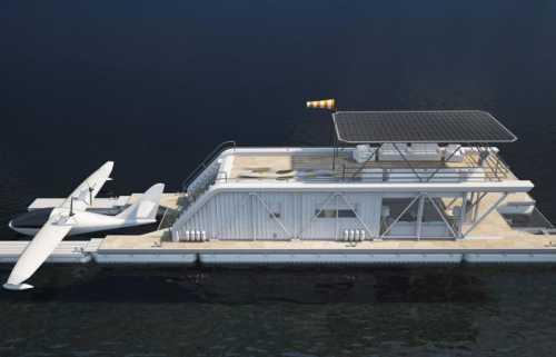 lilypad плавающий архитектурный город будущего